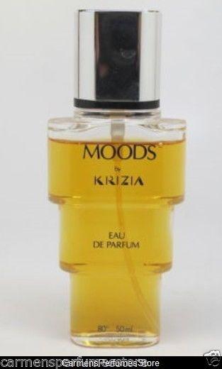 Moods EAU DE PARFUM SPRAY (LOW FILL)RARE 1.7 FL OZ by Krizia for women PLAIN BOX