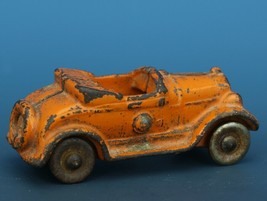 Vintage Kilgore Cast Iron Toy Car Toy Convertible Roadster C.1930 image 2