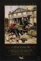 James Gurney Dinosaur Parade Poster 1843-1992 - $23.00