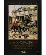 James Gurney Dinosaur Parade Poster 1843-1992 - $23.00