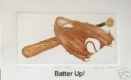 "Barbie Tidwell Baseball ""Batter Up"" Baseball etching - $5.77"