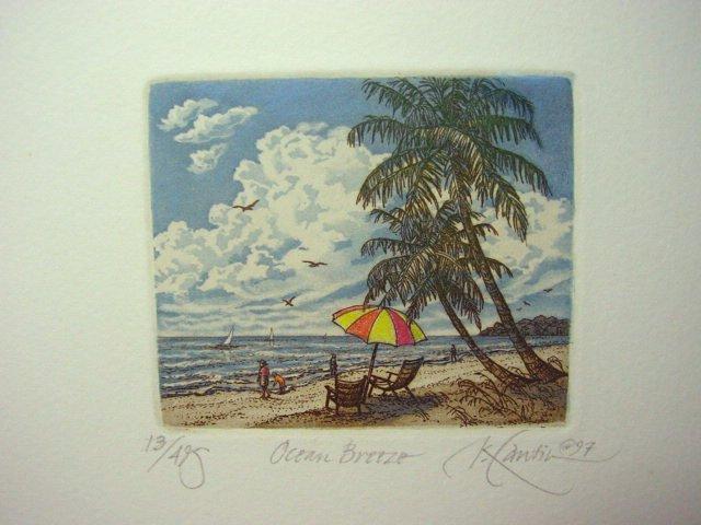 "Kathleen Cantin "" Ocean Breeze "" S/N Original # 14/495"