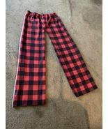 Red Plaid Pajama Women Pants - $10.00