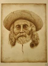 Richard Peters Southwest Man Sepia Print S/N LTD ED - $23.00
