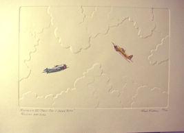 Herb Fichter Nostalgia Hellcat Fighter Plane WWII S/N - $18.59