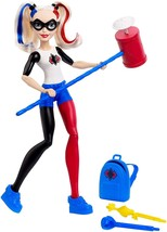 """DC Super Hero Girls Harley Quinn Action Doll, 12"""" - £10.35 GBP"""