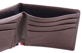 Tommy Hilfiger Men's Leather Wallet Passcase Billfold Rfid Brown 31TL220103 image 7