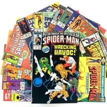 Spectacular Spider-Man Comic Book Lot 12 Issue Marvel Venom X-Men Cloak ... - $24.70