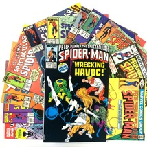 Spectacular Spider-Man Comic Book Lot 12 Issue Marvel Venom X-Men Cloak & Dagger - $24.70