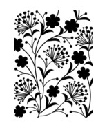 "Darice Embossing Folder Dandelion 4.25""X5.75"" - 1219107 - $4.50"