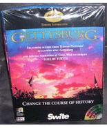 Turner Interactive GETTYSBURG Multimedia Battle Simulation PC Game 1994 - $19.96