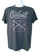 O'Neill Surf Co.  Men's T-Shirt  Gray  Size M  Graphic Tee  Short Sleeve - $11.98