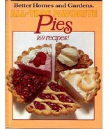 BH&G All-Time Favorite Pies Cookbook 1978 HC First - $8.99