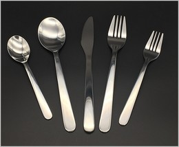 Modern, Stylish & Classic Stainless Steel Flatware Set - Settings 1-10 Optional - $8.93+