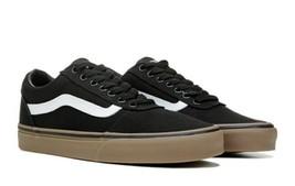 Vans Ward Low Top Men's Black Brown Skate Shoes  - $38.99