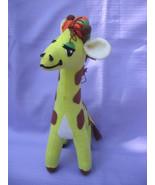 Vintage 1979 Fun Farm Felt Giraffe Stuffed Animal - $9.99