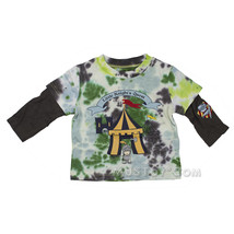 NWT Flapdoodles Tie Dye Little Knight's Quest Long Sleeve Shirt size 6/9... - $9.99