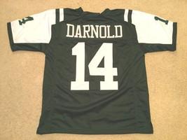 UNSIGNED CUSTOM Sewn Stitched Sam Darnold Green Jersey - M, L, XL, 2XL - $33.99