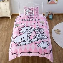 Disney Aristocats Marie Single Bedding Cover 3-Piece Duvet Cover&Sheet&P... - $84.15