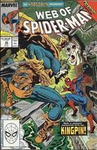 (CB-51) 1989 Marvel Comic Book: Web of Spider-Man #48 { origin Hobgoblin II }  - $8.00