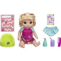 Baby Alive 'Potty Dance Baby' Blonde Straight Hair Doll Set - $54.99