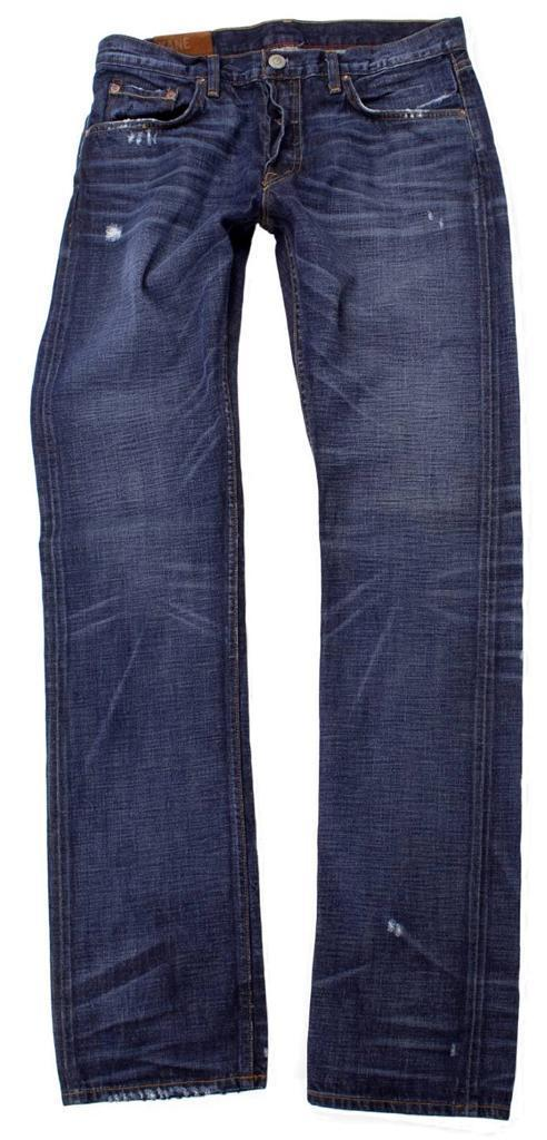 NEW NWT JBRAND MEN'S KANE SLIM FIT STRAIGHT LEG DISTRESSED JEANS PANTS MEMENTO