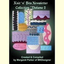Vol 2 Knit 'n Bits Newsletter Machine Knitting ... - $6.00