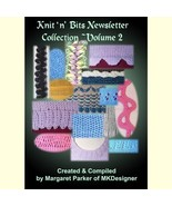 Vol 2 Knit 'n Bits Newsletter Machine Knitting Techniques - $6.00