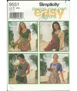 Simplicity 9551 design apron pattern thumbtall