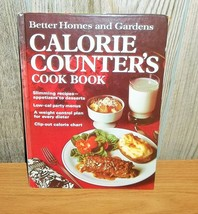 Vintage 1970 Diet Cookbook Calorie Counter's Better Homes and Gardens Ha... - $8.99