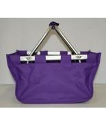 WB Brand Marketminipur Mini Purple Market Tote Padded Handle - $24.95