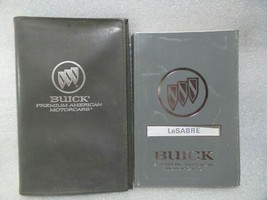 Buick Lesabre 1992 Owners Manual w/ Case 14743 - $13.81