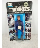 Vintage The Rookies Action Figure TERRY Police Officer Cop 1973 Black Card - $99.99