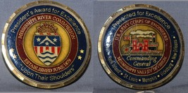 Big Army Engineers Mississippi Valley Commanding General & Presidents Award Coin - $15.83