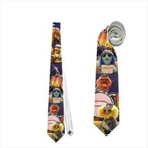 necktie muppets sax floyd pepper zoot pan flute player band animal janice  - $22.00