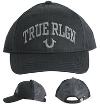 True Religion Men's Logo Cap Trucker Adjustable Baseball Hat Strapback TR2498