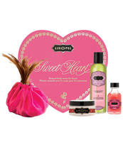 KAMA SUTRA SWEET HEART STRAWBERRY BODY TREATS GIFT SET FOR LOVERS - $36.62