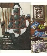 Jean Wells Beginner Lap Quilt Placemat Pillow Wall Hanging Patchwork Sew... - $12.99