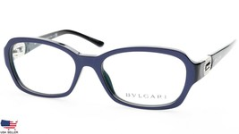 NEW BVLGARI 4071-B 5201 TOP BLUE On BLACK EYEGLASSES GLASSES 53-16-135mm... - $176.40