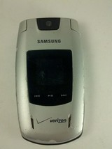 Samsung Verizon Silver Model SCH-U540 Flip Style Cell Phone - $19.96