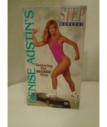 Denise Austin's Step Workout featuring the Reebok Step [VHS], Good Condi... - $20.51