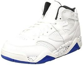 Fila Men's M Squad Basketball Sneaker 9 M White/Blue/Black - $49.14