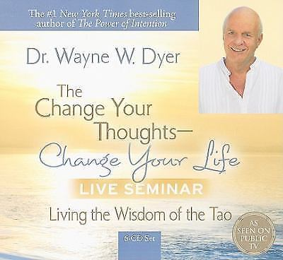 Change Your Thoughts Change Your Life Live Seminar Dr Wayne Dyer 6 CD Audiobook