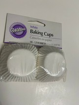 "Wilton White Mini Size Cupcake Muffin Liners Baking Cups 1.25"" - 100ct - $5.94"