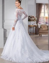 Women New Style Sweetheart A-Line Bridal Wedding Gown image 2