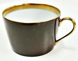 Haviland Limoges Laque De Chine Gold Rim - Chocolat Flat Cup - $31.68