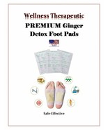 NEW IMPROVED 14-Ginger Detox Pads Foot Pads Herbal Cleansing Pads US SELLER - $6.95+