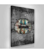 SuccessHuntersPrints 100 Dollars Lips Canvas Print Office Decor Entrepre... - $89.94