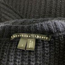 Theyskens Theory Sweater Vest Wool Navy Blue Women Sz S image 3