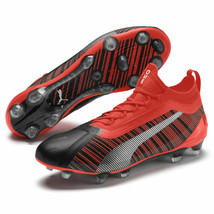 new PUMA ONE 5.1 FG/AG men's soccer CLEATS 9.5 10 11 11.5 red football shoes - $89.90